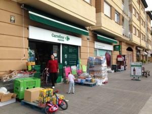 Carrefour express plencia